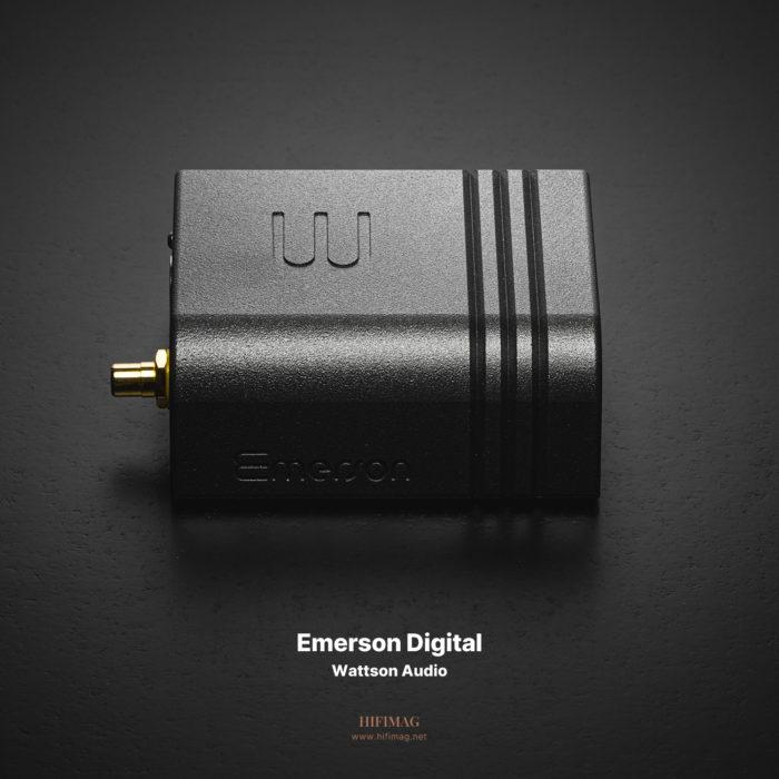 왓슨오디오 에머슨 디지털 – 놀라운 가성비로 만나는 스위스의 하이엔드 디지털